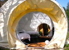 The UK's Dome Garden