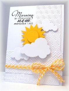 MY FAVORITE THINGS Die-namics Sunshine PAPERTREY INK Cloud 1 & 2 VERVE STAMPS New Mercies