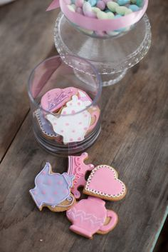 Cookies from a Rustic Tea Party #teaparty #cookies