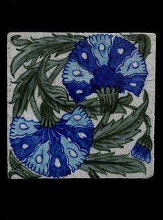 Tile        Place of origin:        London, England (made)      Artist/Maker:        De Morgan, William Frend, born 1839 - died 1917 (manufacturer)