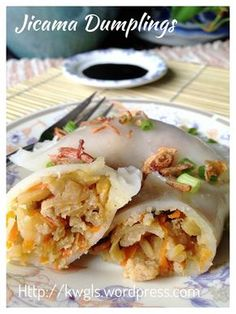 INTRODUCTION In Singapore, it is called Soon Kuih (笋粿) or literally translated as bamboo shoot rice cake. Asian Appetizers, Asian Snacks, Asian Desserts, Asian Recipes, Chinese Recipes, Hawaiian Recipes, Chinese Desserts, Asian Foods, Cooking Ingredients
