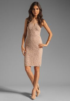 ALICE BY TEMPERLEY Alberto Dress in Nude at Revolve Clothing - very expensive, but pretty!