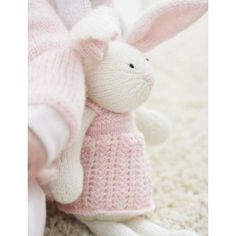 Free Intermediate Baby's Toy Knit Pattern