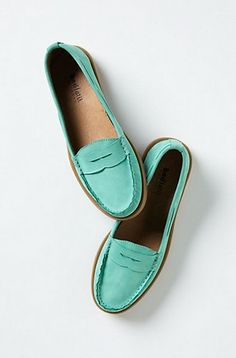 Anthro loafers