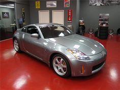Nissan Z Cars, Nissan 350z, Barrett Jackson Auction, Car Photos, Amazing Cars, Chevrolet Corvette, Cool Eyes, Supercars, Jdm