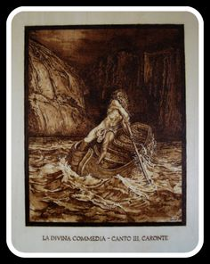 pirografia - divina commedia Gustave Dorè - www.bottegamastrociliegia.it