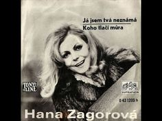 Hana Zagorová ‎– Já Jsem Tvá Neznámá (1971) Einstein, Music, Youtube, Muziek, Music Activities, Youtubers, Musik, Youtube Movies