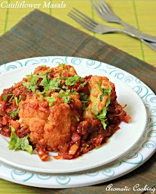 Aromatic Cooking: Cauliflower Masala