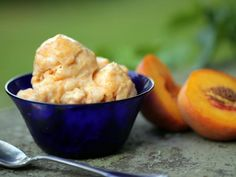 Get Grandpa Waite's Fresh Peach Ice Cream Recipe from Cooking Channel