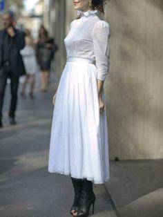 Choies Limited Edition Pure Love Midi Dress   Choies