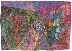 'Hospital gouache' c. 2002