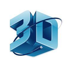 Create a sphere logo - Adobe Illustrator 3d Printing, Printer Logo, Game Logo Design, 3d Logo, Western Theme, Typography Fonts, Cool Logo, Logo Inspiration, Impression 3d