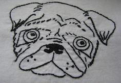 Pug stitching