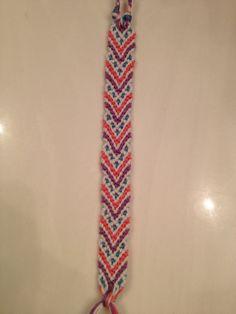 Friendship bracelet pattern 3198