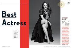 The Oscars 2015 issue - Keir Novesky