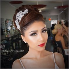 Stunning makeup and hair -Makeup by Lilit