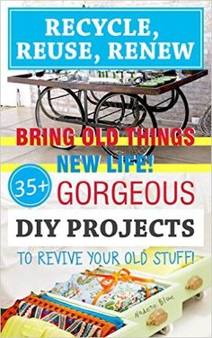 Free at the time of posting list of Kindle books, Please check prices before purchasing as we have no control over how long they will be free. Free Recycle, Reduce Reuse Recycle, Repurpose, Diy Holiday Gifts, Diy Gifts, Projects For Kids, Diy Projects, Diy Arts And Crafts, Household