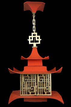 Pagoda Lanterns - The Ace Of Space Blog.  Great piece on Chinois lanterns.  Thanks Vicki!