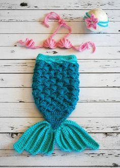 Traje de sirena sirena bebé sirena sirena cola por LoopySlipknot