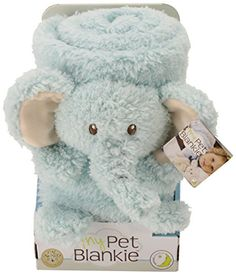 Dress-Up Toy Purses - My Pet Blankie Original Elephant Plush One Color One Size ** You can get more details by clicking on the image.