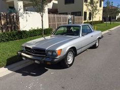 1979 Mercedes Benz (FL) - $19,999 2 door 450 SLC with 118,182 miles on it. Silver exterior paint with Blue leather interior. Automatic transmission (newly rebuilt), original V-8 engine (newly rebuilt