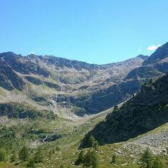 Escursioni in montagna. colle d'Arpy.  VDA