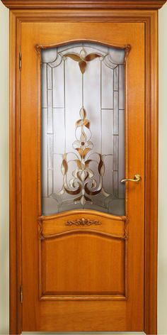 Room Door Design, Door Design Interior, Wooden Door Design, Wooden Doors, Stained Glass Door, Glass Panel Door, Glass Front Door, Window Glass Design, Unique Doors