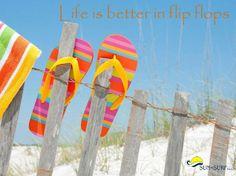 Life is better in flip flops... always! https://www.facebook.com/128847517174708/photos/a.128908803835246.19702.128847517174708/680340152025439/?type=1&theater