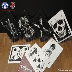 TMCARDS black and white playing cards has a unique tone reflecting the fashion of the day, and is likely to be guided by prevailing tastes and styles. Personalized Playing Cards, Custom Playing Cards, Types Of Colours, White Doves, Months In A Year, Printing Services, Poker, Red Roses, Card Games