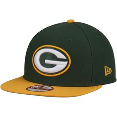 Green Bay Packers New Era Southside Snap Original Fit 9FIFTY Adjustable Snapback Hat - Green