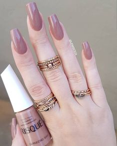 Gel Nail Designs You Should Try Out – Your Beautiful Nails Perfect Nails, Gorgeous Nails, Love Nails, Classy Nails, Trendy Nails, Gel Nails, Nail Polish, Pretty Nail Colors, Nail Jewelry