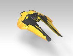 Maysketchaday week 3 by Daniel Matthews on ArtStation. Spaceship Art, Spaceship Design, Star Wars Rpg, Star Wars Ships, Cyberpunk, Arte Robot, Robot Art, Sci Fi Spaceships, Starship Concept