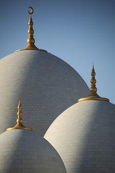 Grand Mosque, Abu Dhabi, United Arab Emirates