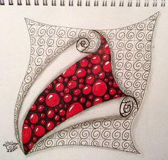 Zen Doodle Patterns, Doodle Art Designs, Zentangle Patterns, Zentangle Drawings, Doodles Zentangles, Abstract Drawings, Tangle Doodle, Tangle Art, Zen Art