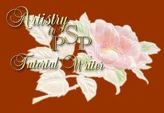 Everything PSP - Tutorials Index.  Artistry in PSP tutorials