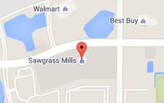 Map of sawgrass mills