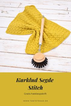 Karklud i sedge stitch Crochet Home, Crochet Baby, Knit Crochet, Chrochet, Cross Stitch, Knitting, Perler, Clothes, Creative