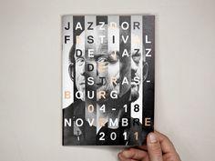 Creative Posters, Jazz, Door, Jazzdoor, and Festival image ideas & inspiration on Designspiration Layout Design, Web Design, Print Layout, Design Art, Freelance Graphic Design, Graphic Design Posters, Graphic Design Illustration, Art Graf, Graphic Artwork