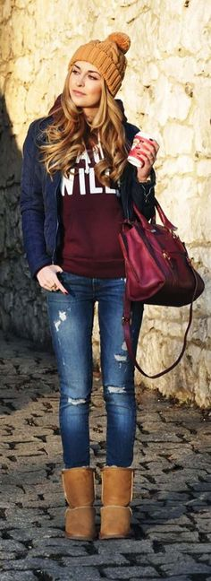College Winter Outfit Idea