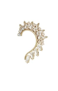 Jeweled Left Ear Cuff | BCBG