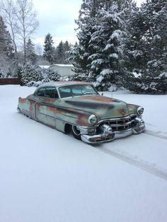 """1953 Cadillac """"Sled"""""""