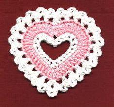 Valentine Coaster     by Priscilla Hewitt ©2000