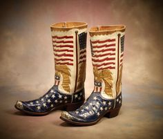 Fabulous Star Spangled Banner Boots