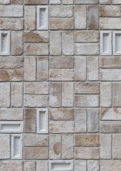 Image 4 of 22 from gallery of Rabobank Westelijke Mijnstreek Advice Centre / Mecanoo. Photograph by mecanoo Design Exterior, Brick Design, Facade Design, Brick Tiles, Brick Facade, Brick Wall, Brick Architecture, Architecture Details, Brick Building