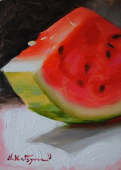 SOLD   I just returned from our country house and bought a watermelon from a  street fruit seller right below my apartment window. I cam...