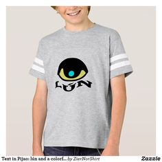 Shop Text in Pijao: lún and a colorful eye T-Shirt created by ZierNorShirt. Personalize it with photos & text or purchase as is! Simple Shirts, Bunt, Fitness Models, Mens Fashion, Casual, Language, Sleeves, Mens Tops, How To Wear