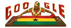 Theodosia Okoh homenajeada por Google en el 94 aniversario de su nacimiento. Doodleando, Los Logos de Google