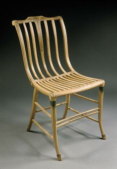 Side chair Samuel Gragg (1772–1855) Date: ca. 1808–25 Geography: New England, Boston, Massachusetts, United States