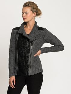 423c715b705e This innovative knit jacket is of our favorite item of the season. We love  the