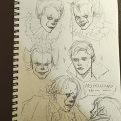 #pennywise #billskarsgard #itmovie #it2017 #stephenking . . . #sketchbook #sketch #sketches #sketching #sketchoftheday #pencildrawing #pencilart #pencilsketch #drawings #drawing #draw #mangaart #mangadrawing #manga #art #artwork #doodle #doodles #face